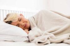 American Heart Health Month - Woman Sleeping