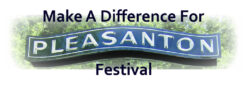 Make A Difference For Pleasanton Festival Logo